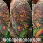 Elf Warrior Tattoo by Joe Capobianco