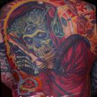 Misfits Mars Attacks Back Tattoo by Joe Capobianco