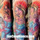 Virgin Mother Tattoo by Joe Capobianco