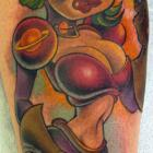 Space Capo Gal Tattoo by Joe Capobianco
