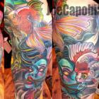Geisha, Leg Sleeve