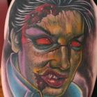 Dead Elvis Tattoo by Joe Capobianco