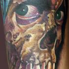 Skull Tattoo by Joe Capobianco