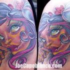 Capo Gal Tattoo by Joe Capobianco