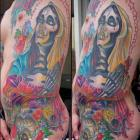 Day of the Dead Tattoo by Joe Capobianco