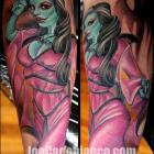 Munster Tattoo by Joe Capobianco