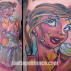 Cupcake Capo Gal Tattoo by Joe Capobianco